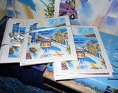San Francisco Cards, Fine Art Cards, Cable Car Art Cards, Dan Leasure Oil Painting Print Cards, San Francisco