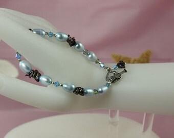SALE Blue Bracelet Ocean