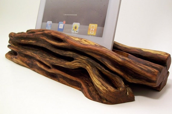 20% off Valentines Day Sale- Wooden iPad Docking station