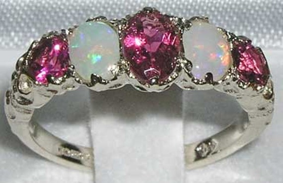 Victorian Style Sure Set Sterling Ring Setting