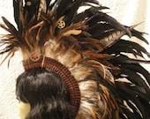 Feather Mohawk: Clockwork Steampunk