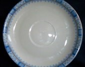 Bavaria Germany China Saucer by J.Kronster mark 33 86 with a crown