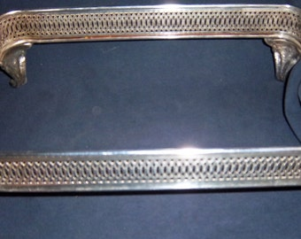 """Vintage 1970's Silver Plate Buffet Server 8"""" x 17"""""""