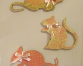 Rat XL wood Magnets-RESERVED for  Amber