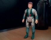 Vintage Dino-Riders Figurine - Heroic Dino Rider Proto - 1987