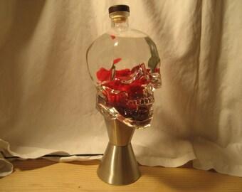 Lava Lamp Light 1.75 Liter Crystal Head Vodka Skull Custom