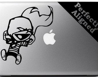 Calvin & Hobbes inspired Stupendous Man 2 vinyl decal for Macbooks, Laptops, Cars, etc...