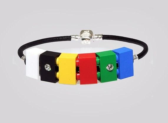 Lego Bracelet, Unique, Retro & Funky
