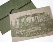 Portland Notecard // Gree...