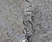 Silver (or Gold) Elephant Ear cuff