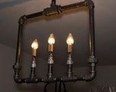 Hanging Fireplace Lamp