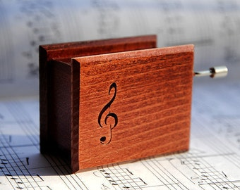 "Wooden music box  ""Beethoven: Für Elise"" ZD09e003"