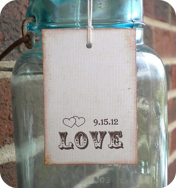 Items Similar To Personalized Wedding Shower Favor Tags