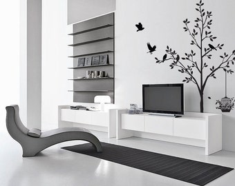 Tree Bird Flower Wall Art / Wall Stickers / Wall Decals from AmazingSticker