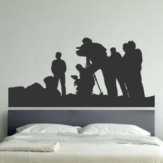 Movie Film Production Children Art Wall Stickers / Wall Decal / Wall Mural  from AmazingSticker
