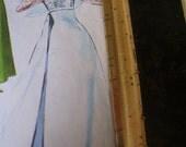 Wedding dress Pattern Mc Calls 8083 vintage 1965