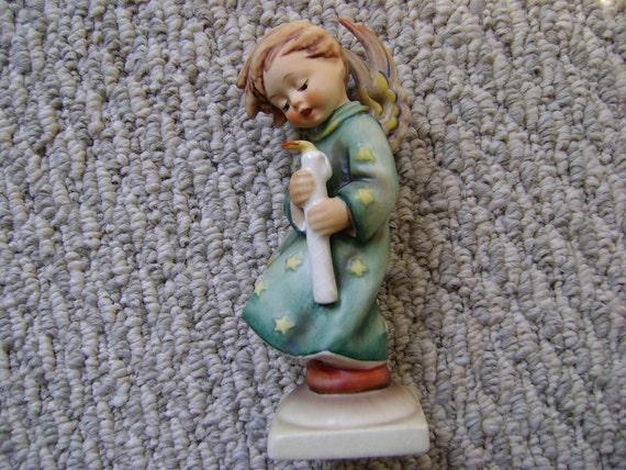 Vintage Hummel Heavenly Angel Figurine 21 Trademark 5