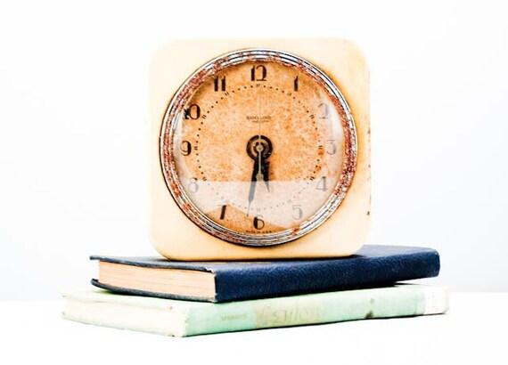 LAST CHANCE Antique Rusty Hammond Synchronous Metal Wall Clock