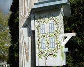 Ivy Cottage Birdhouse OOAK Indoor Outdoor Decor