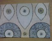 Large Upcycled Magazine Envelope- Blue Mosaic