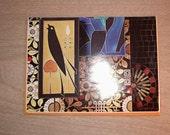 Large Upcycled Magazine Envelope- Art Deco