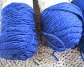 3 Skeins of Navy Yarn