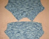 Bloomers panties shorts - Hip to Waist variable adjustable KNIT PDF PATTERN