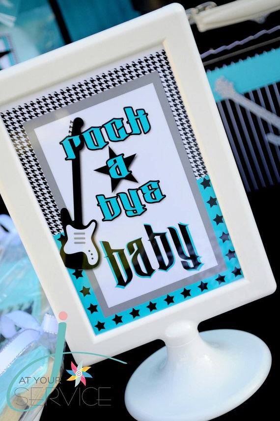 Rock A Bye Baby 4x6 Table Signs