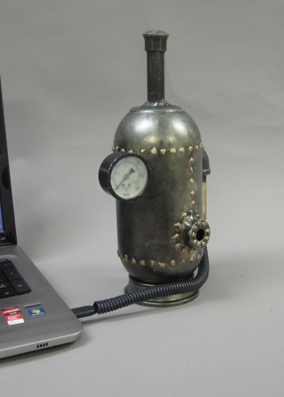 External Hard Disk Steampunk Boiler