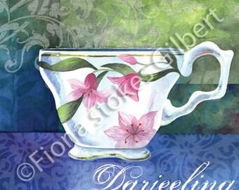 Teacup Art, Darjeeling