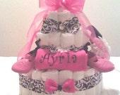 Sassy Girl Diaper Cake