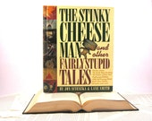 Stinky Cheese Book Tablet Cover Case- (iPad / iPad Air / Kindle Fire 8.9 / Nexus 10 / Samsung 10.1 / Hardcover / Book)