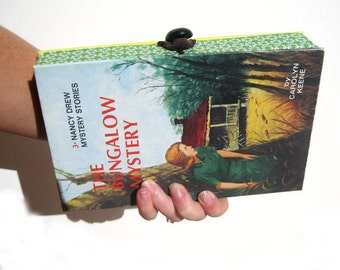 Book Clutch Purse- Nancy Drew