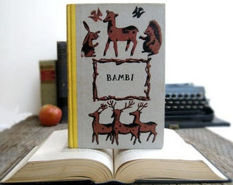 Kindle Cover or Nook Cover- Ereader Case made from a Book- Bambi