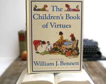 IPAD Cover- Tablet Case made from a Book- Children's Book of Virtues