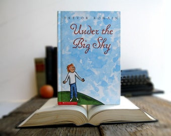 Kindle Cover or Nook Cover- Ereader Case made from a Book- Under the Big Sky