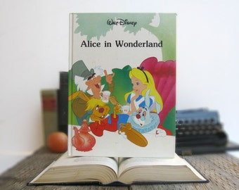 Alice in Wonderland Book iPad Case Tablet Cover- (iPad / iPad Air / Kindle Fire 8.9 / Nexus 10 / Samsung 10.1 / Hardcover / Book)