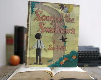 IPAD Cover- Tablet Case made from a Book- The Song of the Swallow