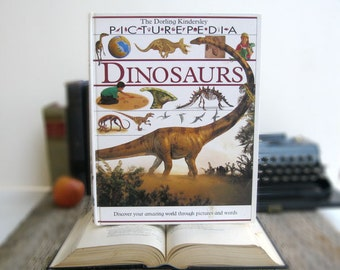 IPAD Cover- Tablet Case made from a Book- Dinosaurs