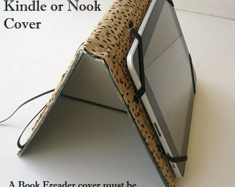 Adjustable Kindle cover Hands-Free Stand option- Add on feature to any Ereader Cover