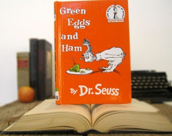 Kindle Cover or Nook Cover- Ereader Case made from a Book- Dr. Suess- Green Eggs and Ham