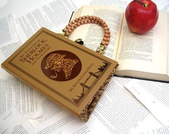 Sherlock Holmes Book Purse Handbag and Kindle Ereader Cover