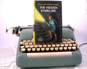 Kindle Cover or Nook Cover- Ereader Case made from a Book- Nancy Drew