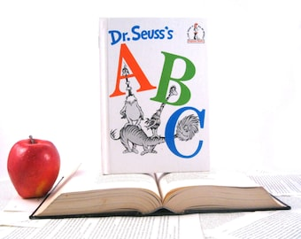 Kindle Cover or Nook Cover- Ereader Case made from a Book- ABC Dr. Suess