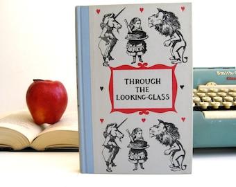 Kindle Cover or Nook Cover- Ereader Case made from a Book- Vintage- Alice in Wonderland