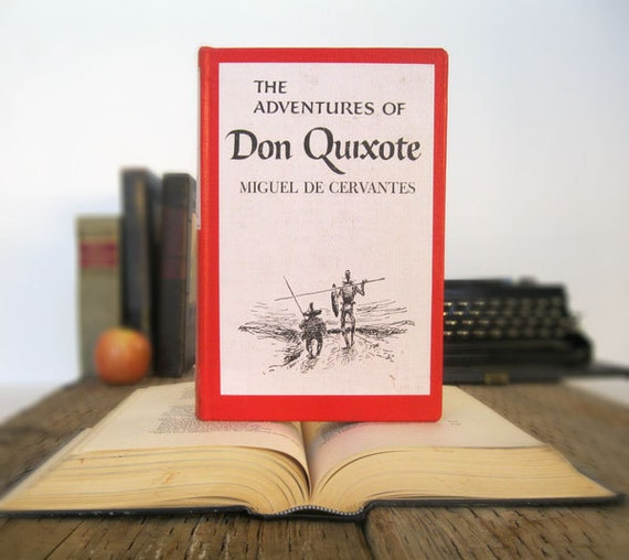 Kindle Cover or Nook Cover- Ereader Case made from a Book- Don Quixote