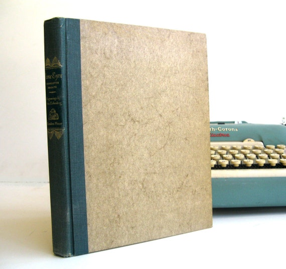 iPad Cover- Tablet Case made from a vintage Book- Jane Eyre
