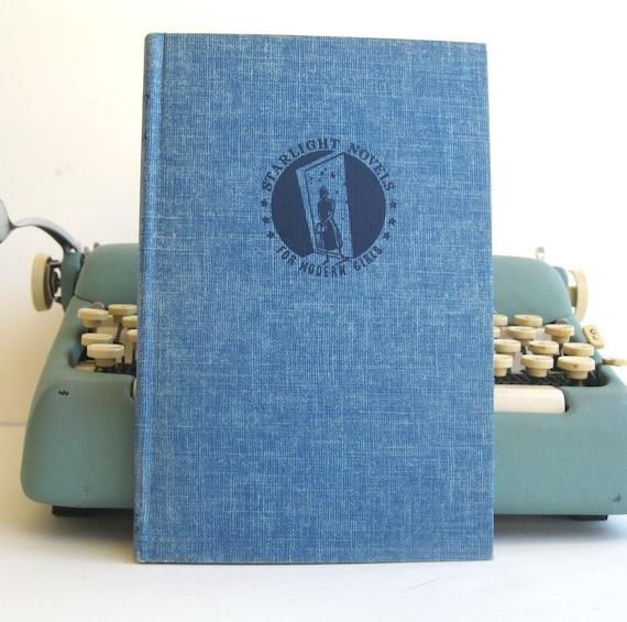Kindle Cover or Nook Cover- Ereader Case made from a Book- Vintage- Starlight Novels for Modern Girls