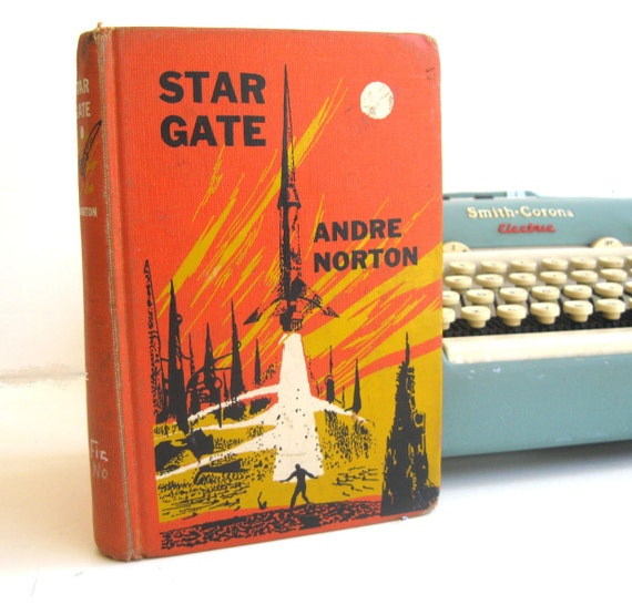 Kindle Cover or Nook Cover- Ereader Case made from a Book- Vintage- Star Gate