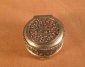 Himark Silver Metal Floral Box